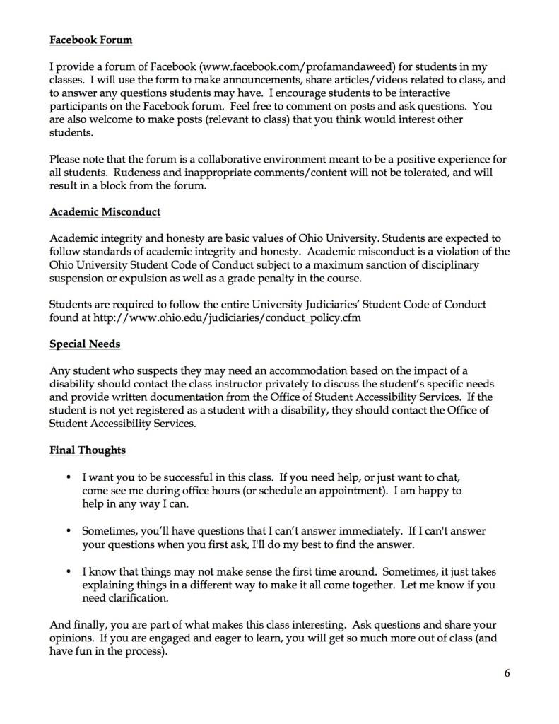 JOUR 3400 Syllabus Page 6