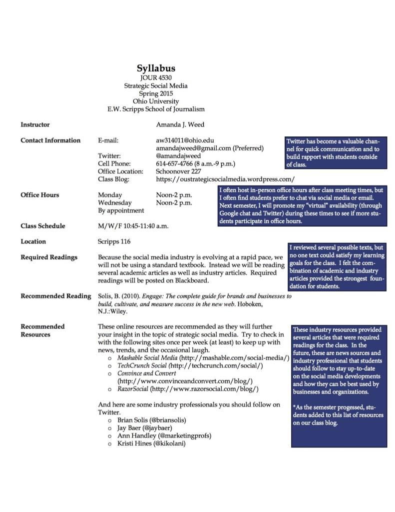 JOUR4530 ReflectiveSyllabus Page 1