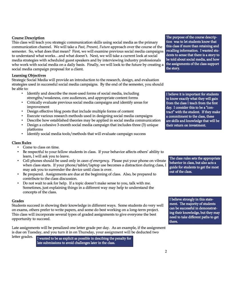 JOUR4530 ReflectiveSyllabus Page 2